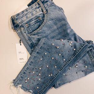 Beaded Forever 21 Jeans